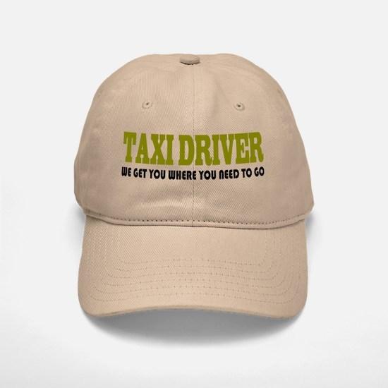 Funny Taxi Driver Baseball Baseball Cap