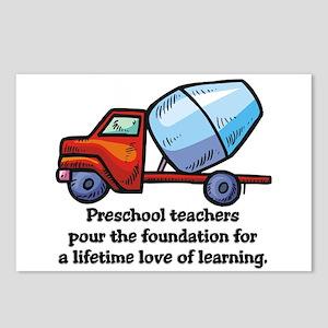 Preschool Teacher Gift Ideas Postcards (Package of