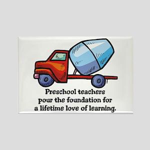Preschool Teacher Gift Ideas Rectangle Magnet