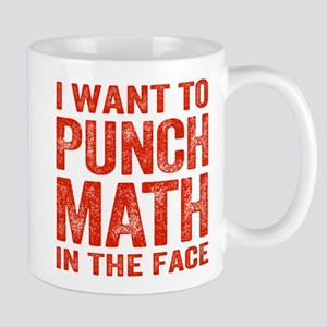 Punch Math In The Face Mugs