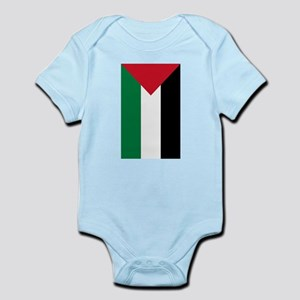Palestine Flag Body Suit