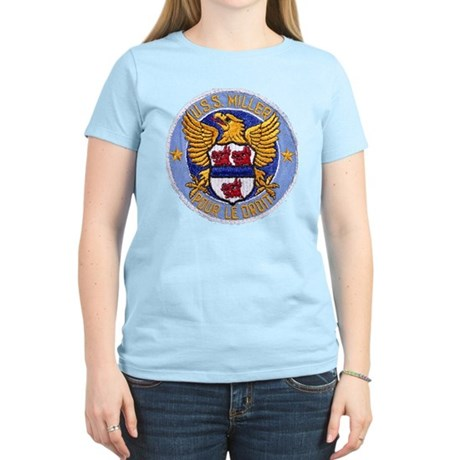 USS MILLER Women's Light T-Shirt