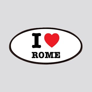 I Heart Rome Patches