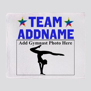 TEAM GYMNAST Throw Blanket