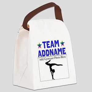 TEAM GYMNAST Canvas Lunch Bag