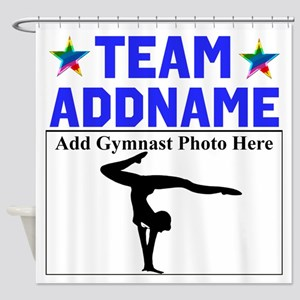 TEAM GYMNAST Shower Curtain