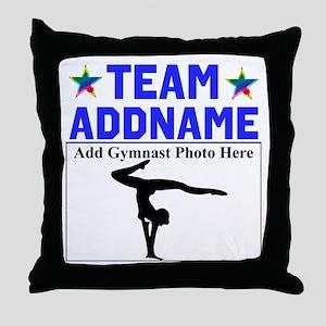 TEAM GYMNAST Throw Pillow