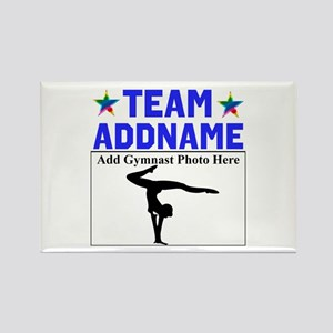 TEAM GYMNAST Rectangle Magnet
