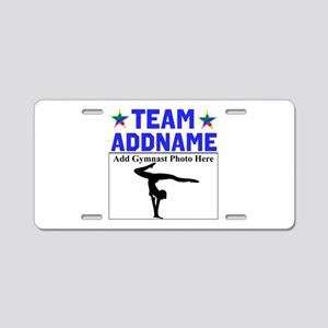 TEAM GYMNAST Aluminum License Plate