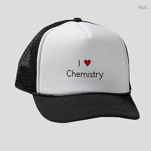 I (heart) Chemistry Kids Trucker hat