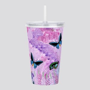 Birdwing On African Acrylic Double-Wall Tumbler
