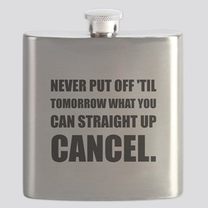 Straight Up Cancel Flask
