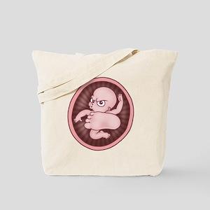 Baby Kick Tote Bag