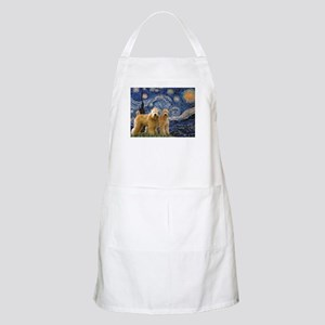 Starry Night & 2 Wheatens BBQ Apron