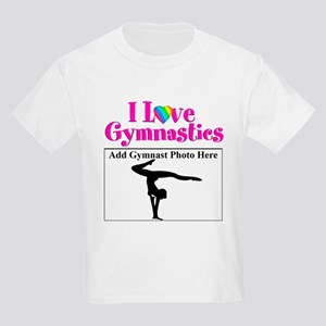 GYMNAST LOVE Kids Light T-Shirt