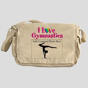 GYMNAST LOVE Messenger Bag