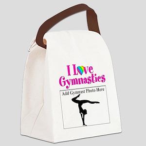 GYMNAST LOVE Canvas Lunch Bag