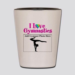 GYMNAST LOVE Shot Glass