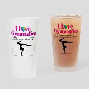 GYMNAST LOVE Drinking Glass
