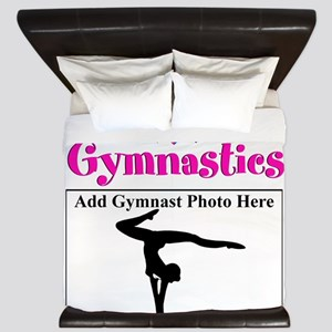 GYMNAST LOVE King Duvet