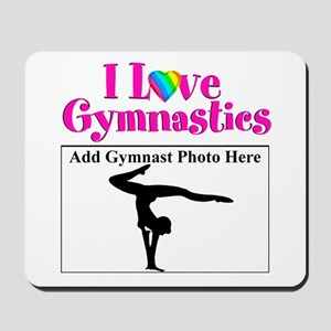 GYMNAST LOVE Mousepad