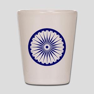 Ashoka Chakra Shot Glass