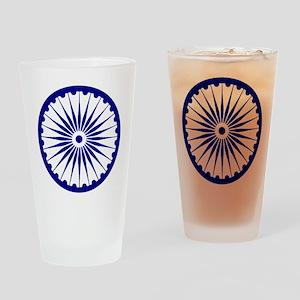 Ashoka Chakra Drinking Glass