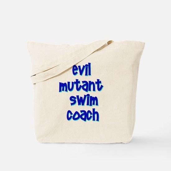 Evil Mutant Swim Coach Tote Bag