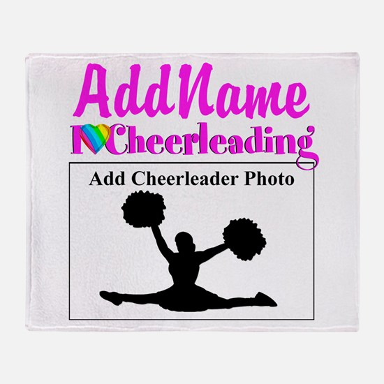 AWESOME CHEER Throw Blanket