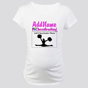 AWESOME CHEER Maternity T-Shirt