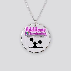 AWESOME CHEER Necklace Circle Charm