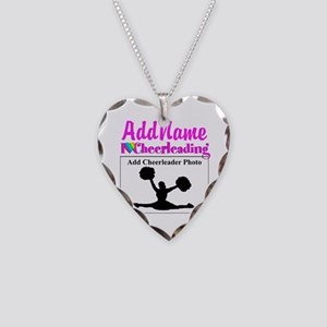AWESOME CHEER Necklace Heart Charm