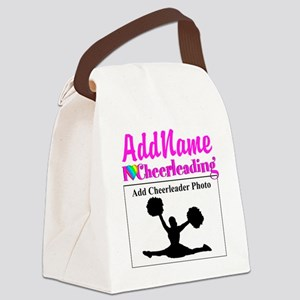 AWESOME CHEER Canvas Lunch Bag