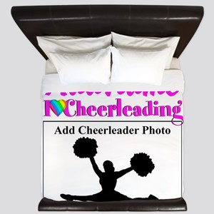 AWESOME CHEER King Duvet