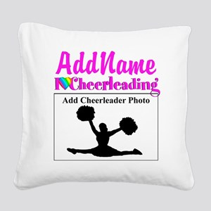 AWESOME CHEER Square Canvas Pillow