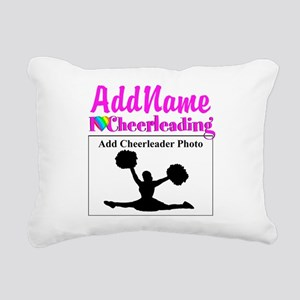 AWESOME CHEER Rectangular Canvas Pillow
