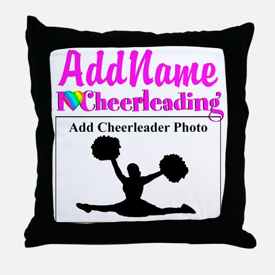 AWESOME CHEER Throw Pillow