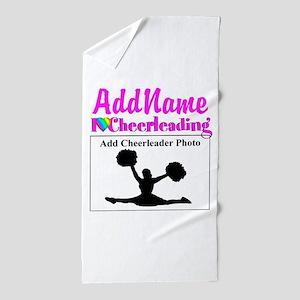 AWESOME CHEER Beach Towel