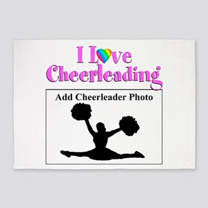 AWESOME CHEER 5'x7'Area Rug