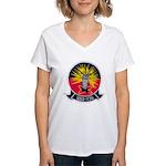 VAQ-136 Women's V-Neck T-Shirt