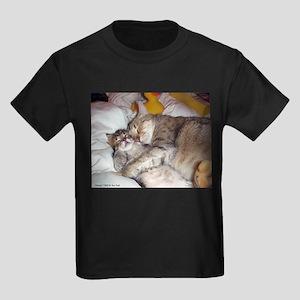 Momcat Kids Dark T-Shirt