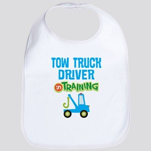 Tow Truck Driver Kids Baby Bib