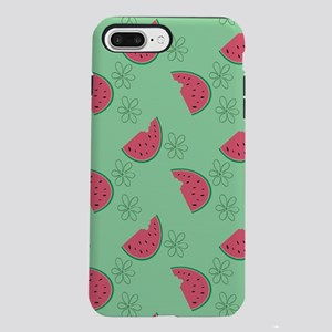 Watermelon Flowers iPhone 7 Plus Tough Case
