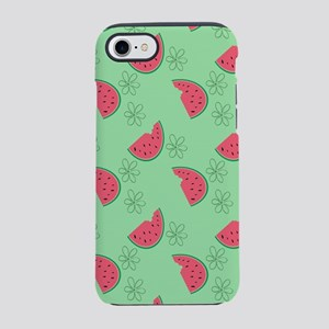 Watermelon Flowers iPhone 7 Tough Case