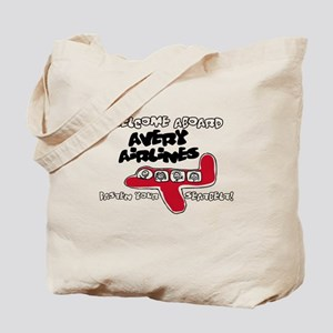 Avery Airlines Tote Bag