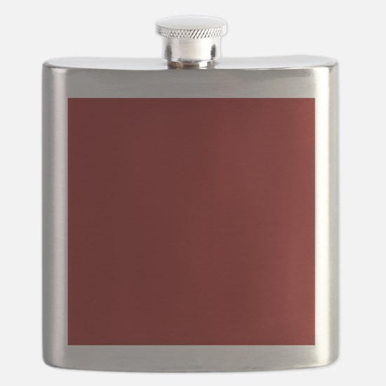 Funny Red Flask
