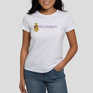 Phi Sigma Pi Logo Women's Classic White T-Shirt