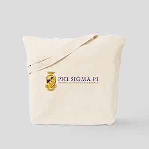 Phi Sigma Pi Logo Tote Bag