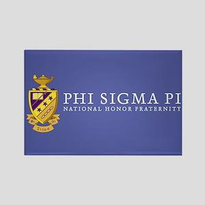 Phi Sigma Pi Logo Rectangle Magnet