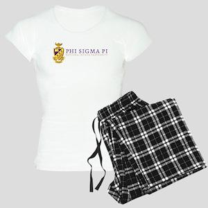 Phi Sigma Pi Logo Women's Light Pajamas